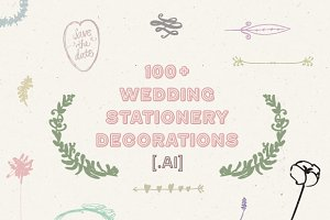 100+ Wedding Stationery Decorations