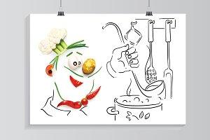 Veggie chef.