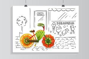 Veggie ride.