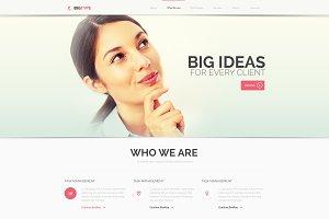 BigType PSD Template