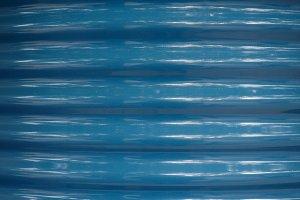 blue corrugated steel texture background