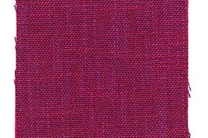 red fabric swatch sample