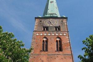 St Jakobi church in Luebeck