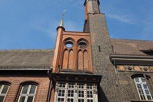 Luebeck Rathaus city hall
