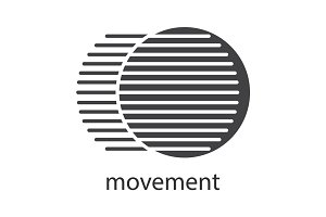 Movement glyph icon