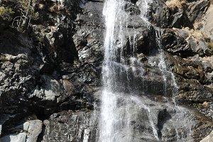Andorra la Vella waterfall