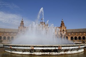 Fountain in Seville
