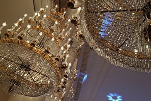 Chandeliers in a classic style