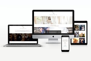 White - Wedding photography WP Theme