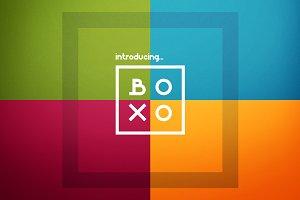 Boxo font