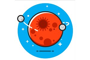 Red Planet icon