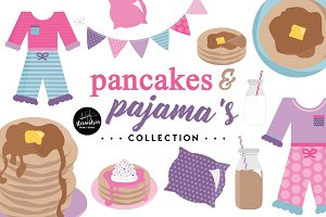 Pancakes & PJ's Graphics & Patterns