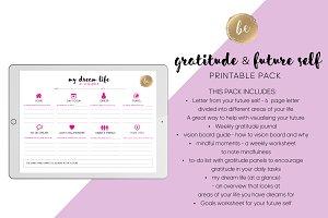 Gratitude - Printable Planner