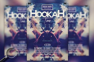 Hookah Chill Time | Flyer Template