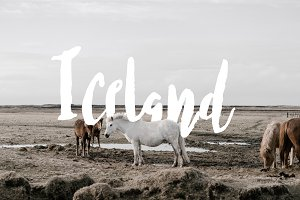 Iceland Typeface