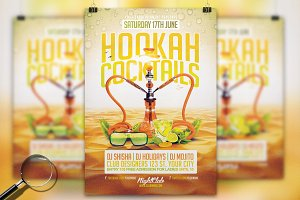 Hookah Cocktails | Flyer Template