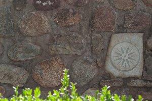 Stone Sun Wall