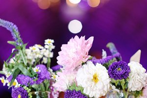 Sparkle Wedding flower centerpiece