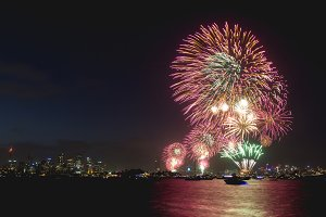 Sydney Fireworks Celebration