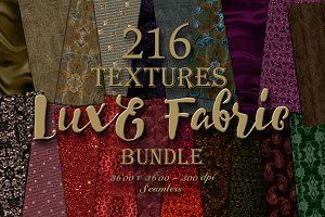 216 Seamless Fabric Texture Bundle