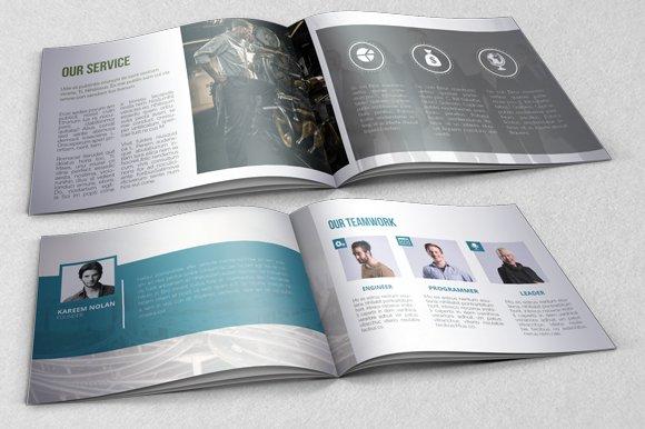 booklet brochure template brochure templates creative market