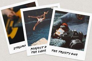 Polaroid Frame [PSD]