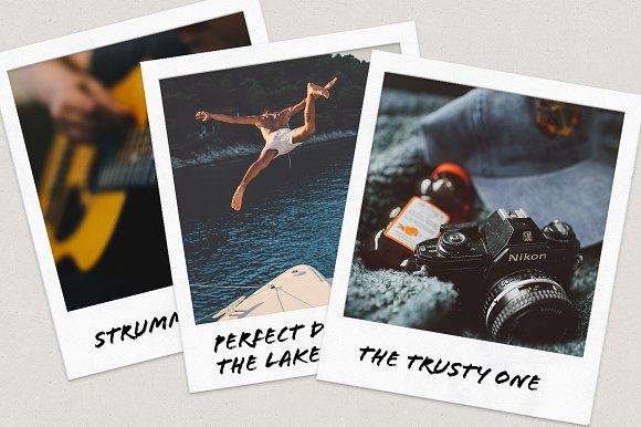 Polaroid Family Nudist  Designtube - Creative Design Content-4288