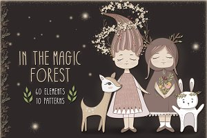 In the magic forest