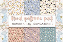 Floral patterns pack