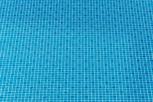 Blue ripped water in swimming
