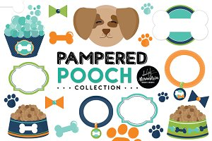 Pampered Pooch Graphics & Patterns