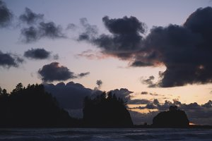 Sunset at La Push