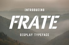 Frate Typeface
