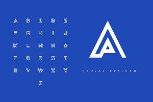 A-Z Logo - Alphabet Pack