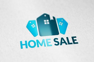 Home Sale Concept Logo designs