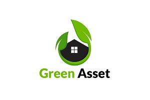 Green Asset Concept Logo template