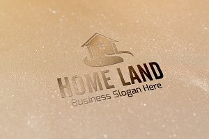 Home Land Style Logo