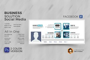 Business Solution Social Media Cover