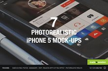 7 Photorealistic iPhone 5 Mock-Ups 2