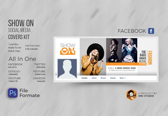 SHOW ON Fasion Cover Kit
