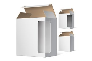 Light Package Cardboard Boxes