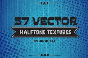 57 Vector Halftone Textures