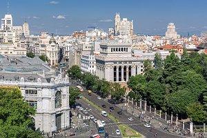 Madrid, Aerial View