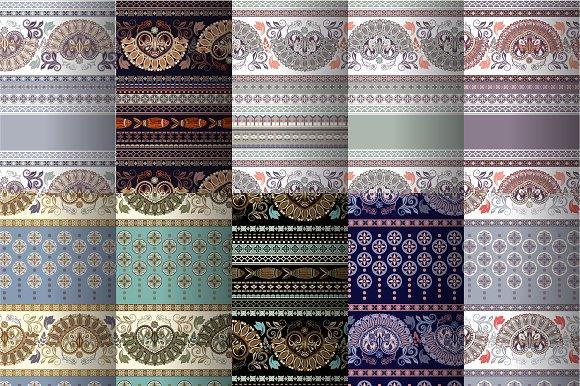 10 Border Ethnic Patterns