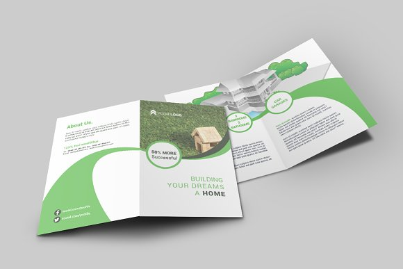 10 bi fold brochures bundle vol 1 brochure templates creative