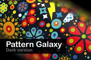 Pattern Galaxy / dark version