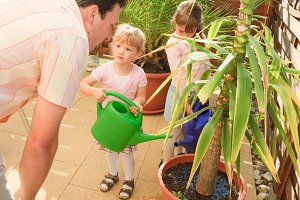 Gardening Family