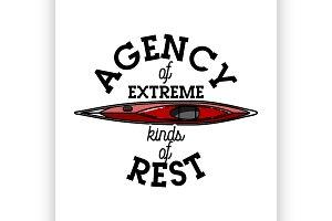 agency of extreme emblem