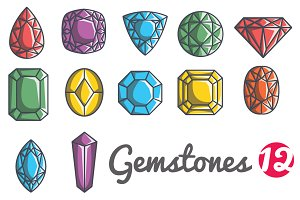 Gemstone icons