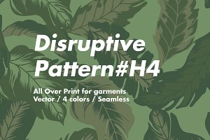 Disruptive Pattern #H4 Vegetation